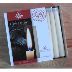 dipam-candle20-white